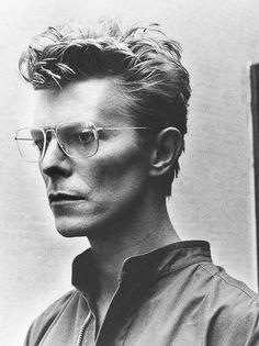 """David Bowie by Helmut Newton, 1982 """