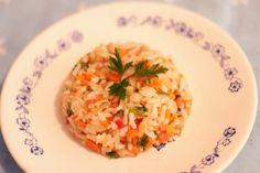 Como incrementar o arroz? #food #diy #culinária #arroz #receita #arrozcolorido #risoto www.comprandomeuape.com.br