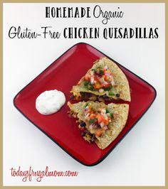gluten free quesadillas :: todaysfrugalmom.com