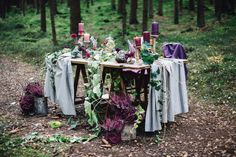 Styled Shooting: Among the Trees   ROSAROT Hochzeiten und Feste