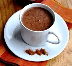 Pumpkin Spice Hot Chocolate (reduced fat)