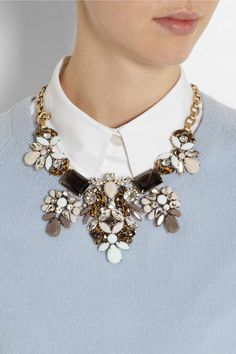 J crew statement necklace from net-a-porter