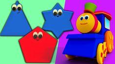 밥 모양 기차 | 컴파일하는 | 아이들을위한 만화 | 교육 비디오 #bobthetrain #kidssong #childrensong #babysong #parenting #education #entertainment #songfortoddlers