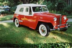 "Came across one for sale that needs some work but oh the potential.....so ""out of Africa"" feeling.    Willys Jeepster 1949"