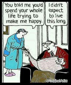 Make Me Happy Marriage Cartoon   Funny Joke Pictures