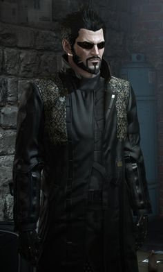 Adam Jensen, Deus Ex Mankind Divided I like his coat. I found out you can actually buy it, for only about 800 dollars, give or take.