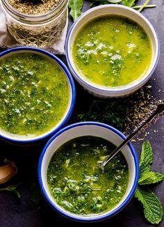 Chimichurri Sauce Recipe 3 Ways: Mint, Arugula and Parsley