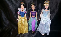 Set of 3 Disney Princess Dolls   Dolls & Bears, Dolls, By Brand, Company, Character   eBay!