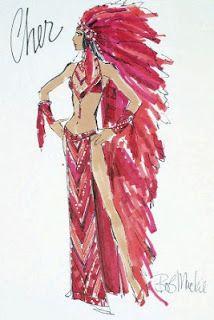 Cher Bob Mackie Costume