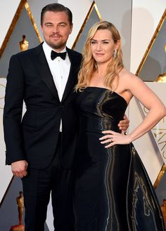 Leonardo DiCaprio and Kate Winslet | Best Couples at the Oscars
