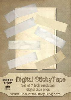The CoffeeShop Blog: Digital Design and Scrapbooking Elements