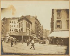 For nearly one hundred years, theses infamous gangs - which were collectively known as the Five Points Gang - practically ran the city and made New York one of the deadliest places on earth. Gangs Of New York, New York One, New York City, The Bowery Boys, Busy Street, Five Points, Lower Manhattan, Slums, Us History