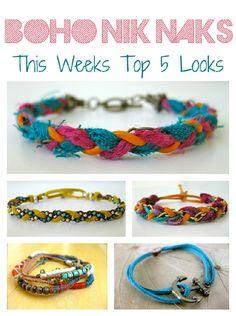 Unique handmaid bracelets, etsy store too!