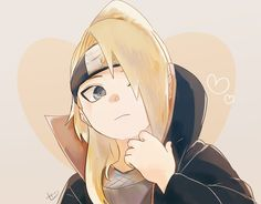 Deidara -3- Why is he so fucking adorable ♡♡♡