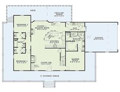 OH Yeah! Porch - forever! Love the game room upstairs and the way the bathroom is shared by the two other bedrooms.