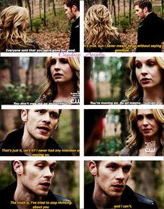 """S4 Ep21 """"She's Come Undone"""" - Caroline and Klaus"""
