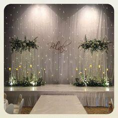 Engagement Decorations, Outdoor Wedding Decorations, Backdrop Decorations, Backdrops, Wedding Stage Backdrop, Wedding Stage Design, Indoor Wedding Arches, Wedding Photo Walls, Minimalist Wedding Decor