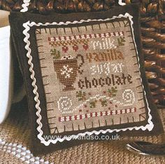 Hot Cocoa Chart by Little House Needleworks