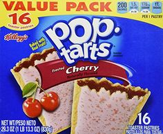 Kelloggs Frosted Cherry PopTarts 16 Count 293 OZ -- Check this awesome product by going to the link at the image.