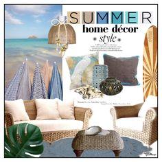 Summer Home Decor Style - Based on Design Seeds by eyesondesign