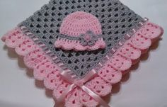 This beautiful hand crocheted granny square baby blanket is made of 100% baby soft yarn. It is made out of a very good high quality yarn.  Very