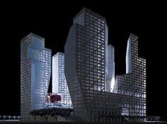 Sliced Porosity Block in Chengdu, China / Steven Holl Architects - eVolo | Architecture Magazine