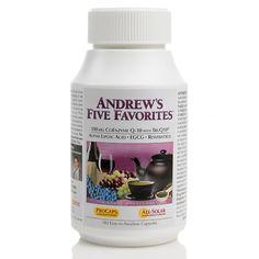 Andrew Lessman New Andrew's 5 Favorites - 180 Capsules