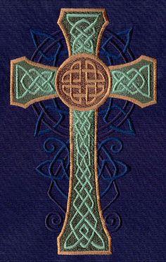Celtic Majesty Cross ~ Urban Threads