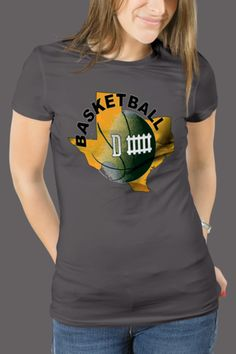 Baylor Basketball Defense Women's T-Shirt Slim and Classic Fit