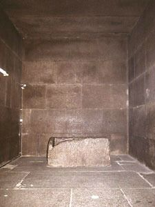 King's Chamber, The Great Pyramid of Giza. Does this look like a tomb to you? Want alternative theories? Visit www.Explore-AncientEgypt.com