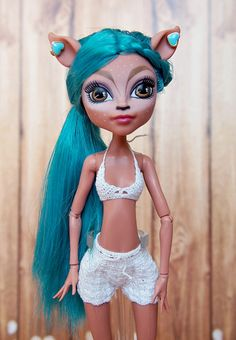 Crochet Monster High, All Monster High Dolls, Monster High Doll Clothes, Monster High Art, Monster High Repaint, Monster Dolls, Crochet Doll Clothes, Doll Repaint, Ooak Dolls