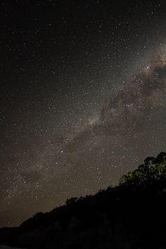 Sagittarius Arm over Nelson Beach   by alienshores52
