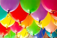 get creative with balloons. Use different colors to match your birthday theme. After all, a birthday party without balloons are not a party! Free Birthday Food, Birthday Deals, Happy Birthday, 40th Birthday, Birthday Greetings, It's Your Birthday, Birthday Parties, Birthday Balloons, Balloons Online