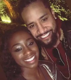 WWE Superstars Jimmy Uso (Jonathan Fatu) on a date night with his wife Naomi Knight (Trinity McCray Fatu). Naomi Knight, Naomi Wwe, Trinity Fatu, Wwe Couples, Andre The Giant, Total Divas, Professional Wrestling, Wwe Superstars, Happily Ever After