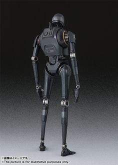 S.H.Figuarts 《星際大戰外傳: 俠盜一號》謎樣機械角色「K-2SO 」現身!   玩具人Toy People News