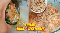 A tasty and healthy okoy made from tuna chunks and combination of vegetables such as squash, carrots, sweet potatoes (or kamote). And also, I have a tasty sw. Tuna, Sweet Potato, Carrots, Breakfast Recipes, Appetizers, Cooking Recipes, Tasty, Stuffed Peppers, Foods