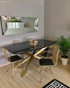 Kitchen Room Design, Dining Room Design, Home Decor Kitchen, Living Room Mirrors, Living Room Decor, Diy Crafts For Home Decor, Dream Furniture, Dining Room Sets, Home Decor Inspiration