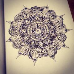 Mandala Designs, wellinho: #mandala #sketching