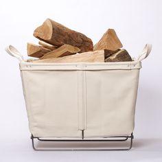 Best Made Canvas Log Basket