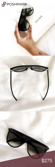 Authentic Celine Shadow Sunglasses Always Authentic🌸 Gently used: very minimal markings (light scratches don't show up in pics so disclosing in description). Includes paper box and Dior dustbag. *I personally style all pics, NO modeling* NO TRADES! Price FIRM unless bundling. Bundle &save even more✅ Celine Accessories Sunglasses