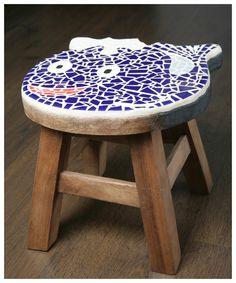 mosaic stool top