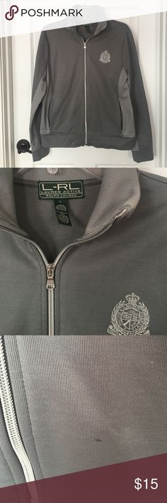 Ralph Lauren Active Sweatshirt Zip up sweatshirt in good condition with one tiny flaw in 3rd pic. ralph Lauren Active Tops Sweatshirts & Hoodies