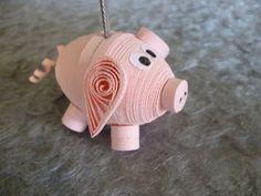 Papírvilág: miniatűr papír állatkák / quilled animal card holders
