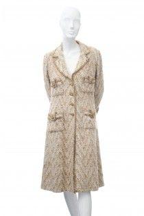 CHANEL couture! sběratelský naprosto jedinečný kabát 36 fbf2e093853