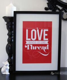 Five Words prints are now available! Yippee! Check them out here.