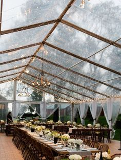 #eventrentalsdc #glass #tent