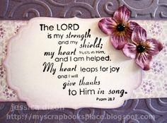 Laura V. Hilton: Psalm 28:7