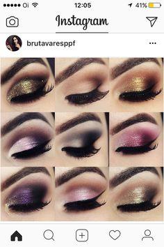 Makeup Art, Makeup Tips, Makeup Ideas, Makeup Stuff, Best Mehndi Designs, Face Sketch, Gorgeous Eyes, Beautiful, Eyeshadow Looks