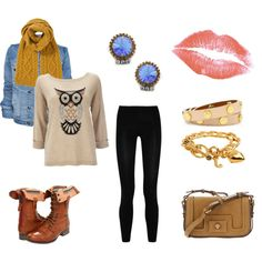 """What a hoot!"" by imajumaican on Polyvore"