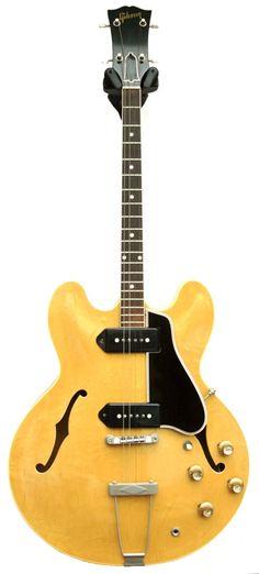 1954 GIBSON - ES-330TDN tenor guitar http://www.tenorguitar.com/pyott.html